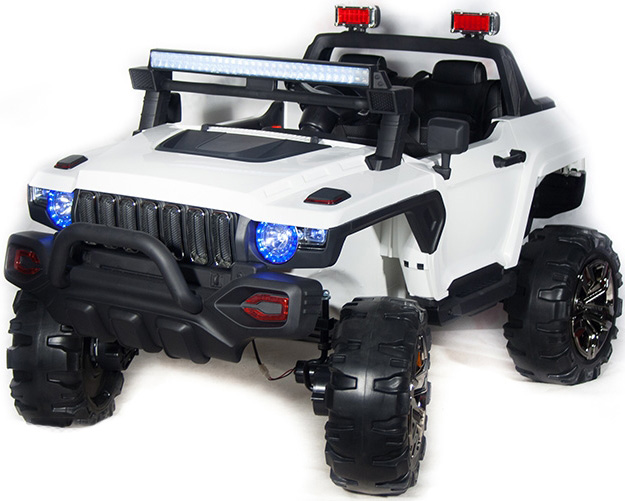 Электромобиль Toyland Jeep Big QLS 618 (белый)