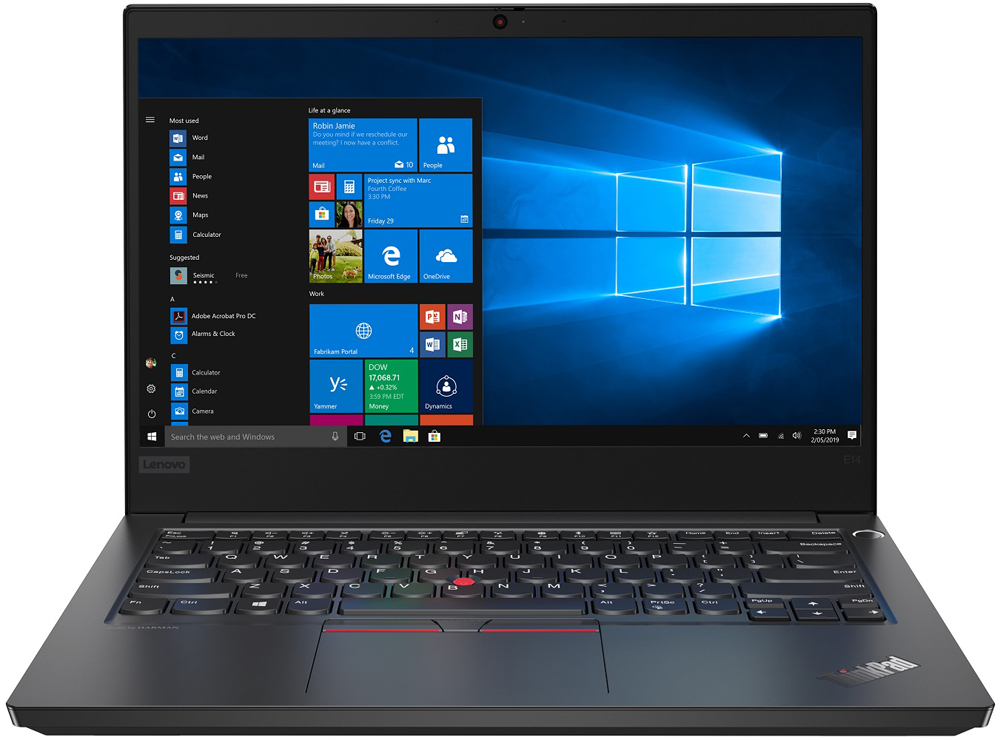 Ноутбук Lenovo ThinkPad E14 (20RA002SRT)