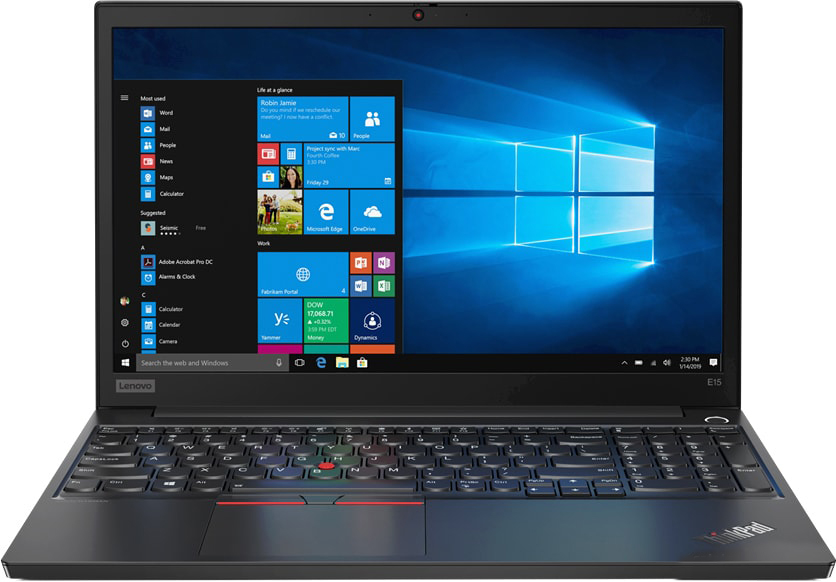Ноутбук Lenovo ThinkPad E15 (20RD005SRT)