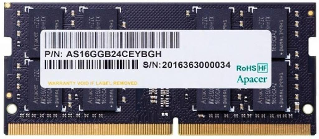 Оперативная память Apacer 8GB DDR4 SODIMM PC4-21300 (AS08GGB26CQYBGC)