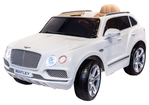 Электромобиль Toyland Bentley Bentayga JJ2158 (белый)