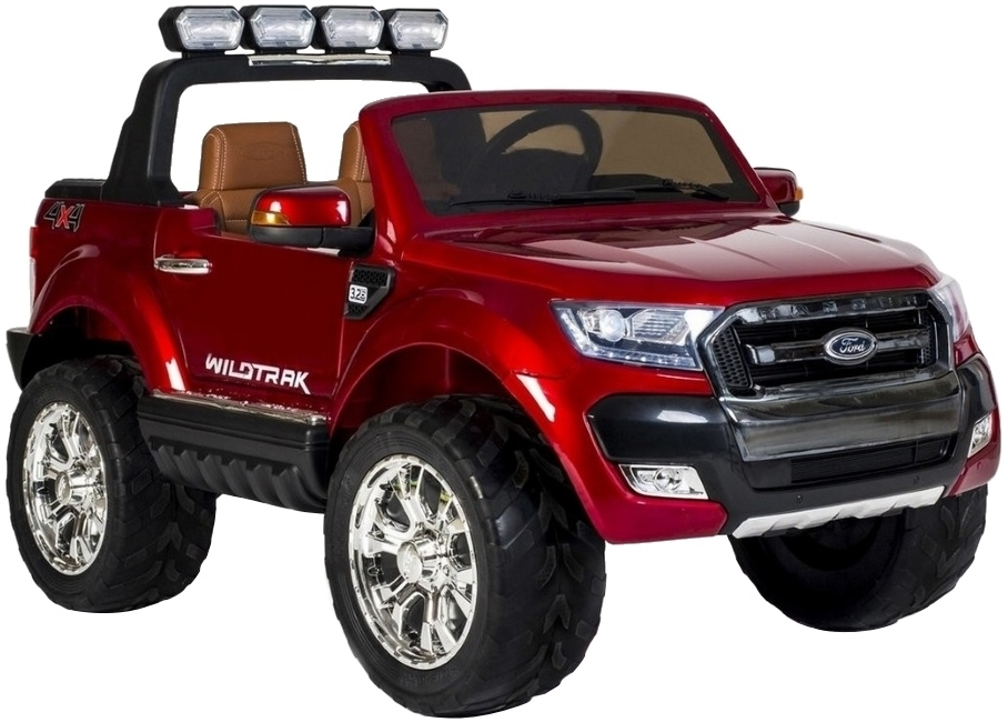 Электромобиль Toyland Ford Ranger 2017 NEW 4X4 F650 (красный)