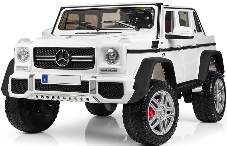 Электромобиль Toyland Mercedes-Benz Maybach AMG G650 (белый)