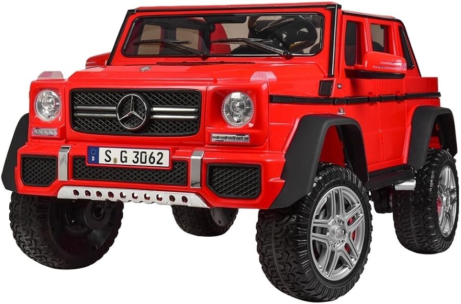 Электромобиль Toyland Mercedes-Benz Maybach AMG G650 (красный)