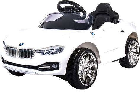 Электромобиль First Car BMW HL-1088 (белый)