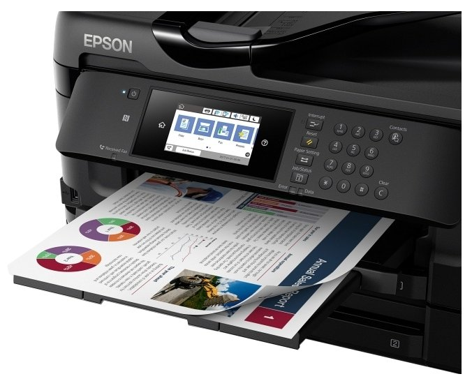МФУ Epson WorkForce WF-7720DTWF 9