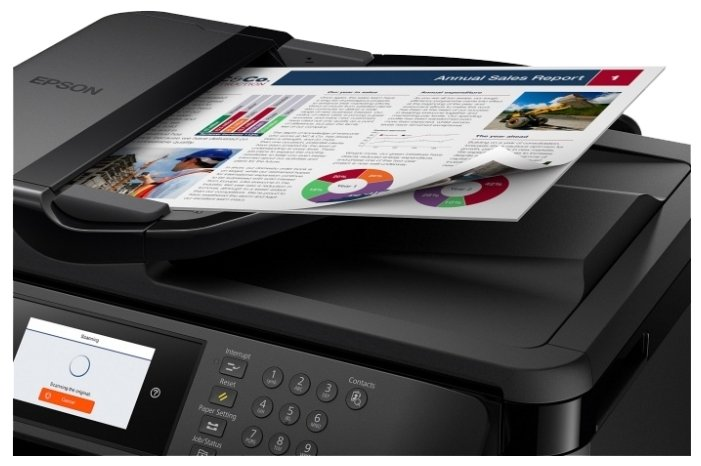 МФУ Epson WorkForce WF-7720DTWF 11